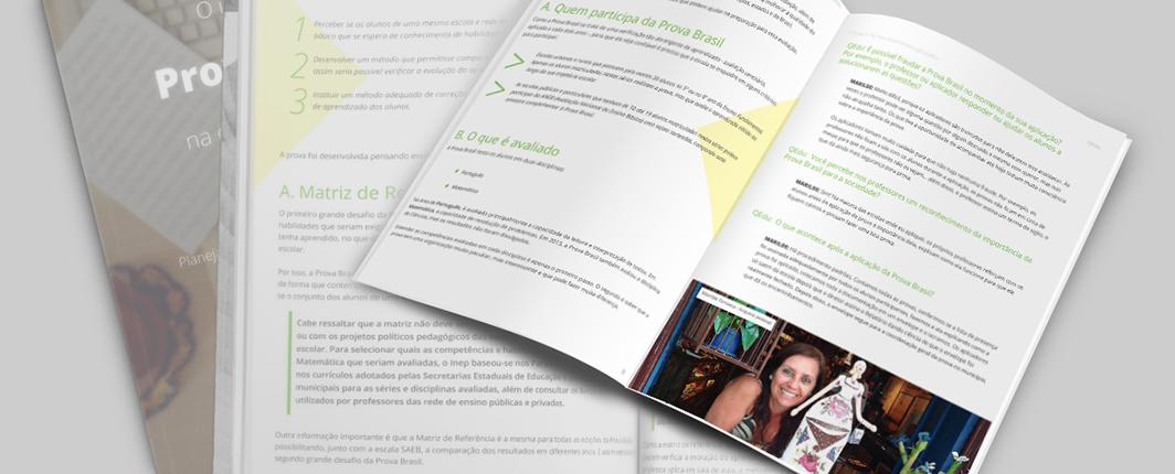Imagem ilustrativa do eBook 'O impacto da Prova Brasil na Educação Pública', o produto é digital. Nenhuma cópia impressa será entregue.