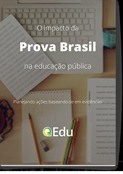 Capa do eBook 'O impacto da Prova Brasil na educação pública'